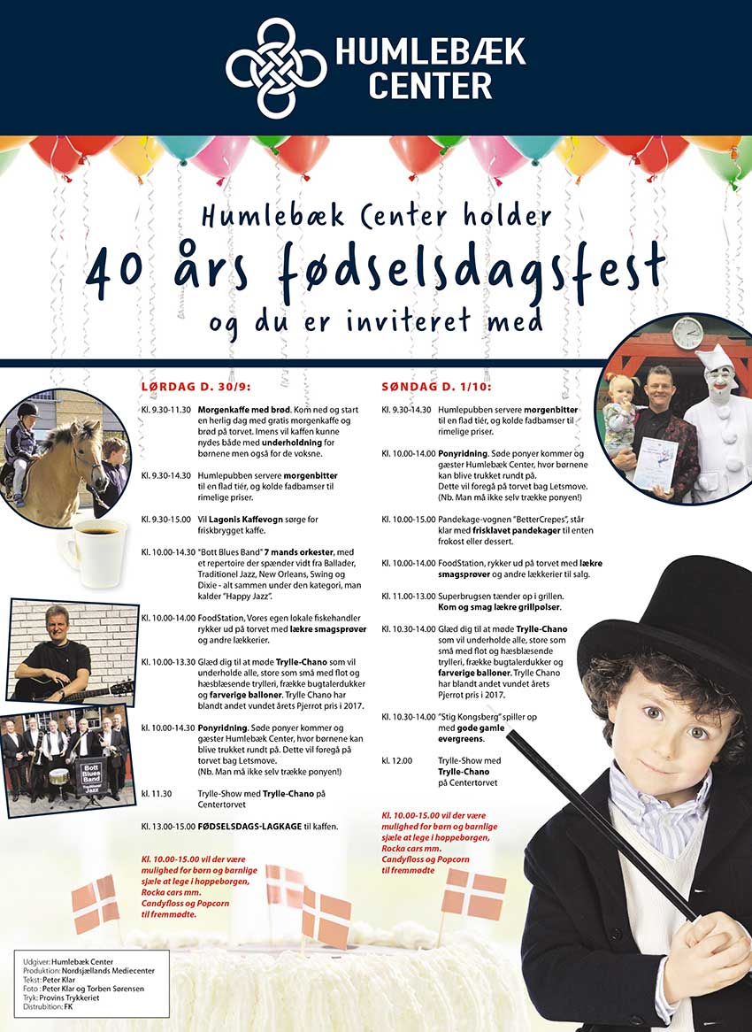 40 års fest lokal 40 års fødselsdag – Humebækcenter 40 års fest lokal